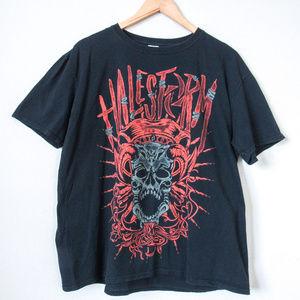 HALESTORM Concert Tour Tee Rock Band T Shirt XL